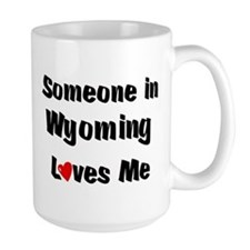Wyoming Loves Me Mugs