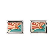 wave at dawn Cufflinks