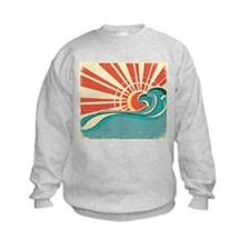 wave at dawn Sweatshirt