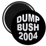 Dump Bush 2004 Magnet (10 pack)