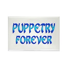 Puppetry Forever Rectangle Magnet (100 pack)