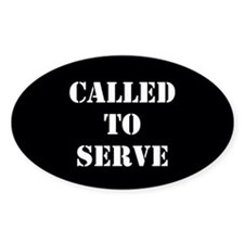 Called To Serve Decal