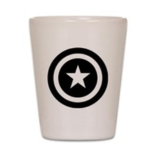 Captain America Shot Glass