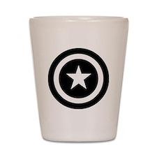 Captain America Shot Glass