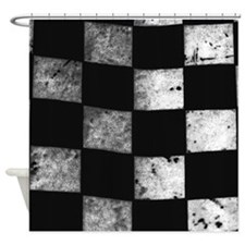Checkered Flag Shower Curtain