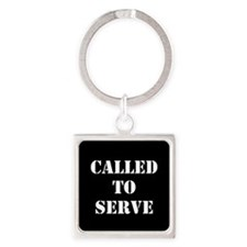 Called To Serve Keychains