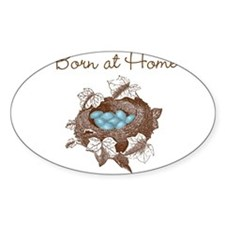 Born at Home baby Decal