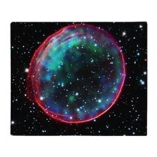 Bubble Supernova Throw Blanket