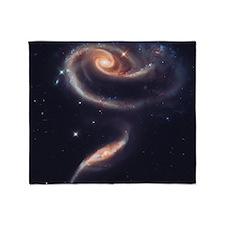 Spiral Galaxies Interacting Throw Blanket