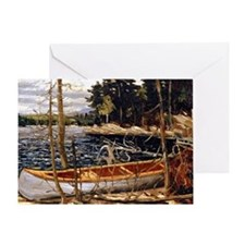 Tom Thomson - The Canoe Greeting Card