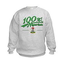 100% Nigerian Sweatshirt