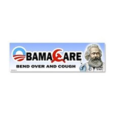 Funny Anti obama care Car Magnet 10 x 3