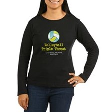 TOP Volleyball Slogan Long Sleeve T-Shirt