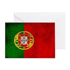 Portugal flag Greeting Card