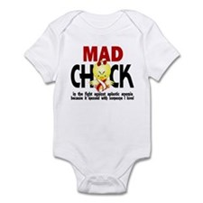 Mad Chick 1 Aplastic Anemia Infant Bodysuit