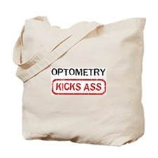 OPTOMETRY kicks ass Tote Bag