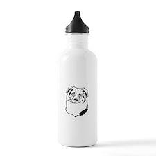 Australian Shepherd He Water Bottle