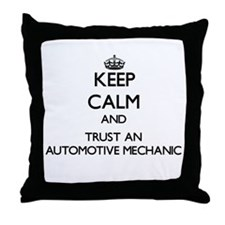 Keep Calm and Trust an Automotive Mechanic Throw P