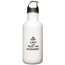Keep Calm and Trust an Economist Water Bottle