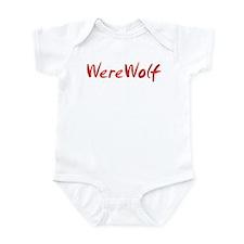 Red WereWolf Infant Bodysuit