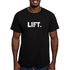 Lift. T-Shirt, Odingear On Back