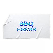 BBQ Forever Beach Towel
