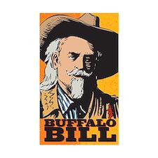 Buffalo Bill Rectangle Stickers