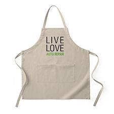 Live Love Auto Repair Apron