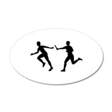 Relay race Wall Decal