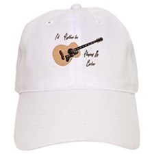 Playing My Guitar Baseball Baseball Cap