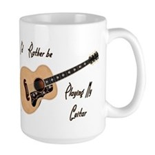 Playing My Guitar Mugs
