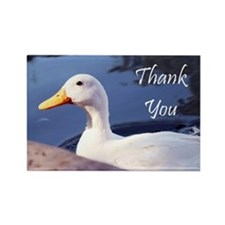 Thank You White Duck Magnets