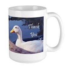 Thank You White Duck Mugs