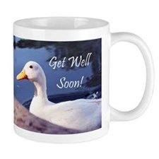 Get Well soon duck Mugs