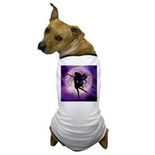 Midnight Stroll Fairy Dog T-Shirt