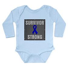 Colon Cancer Survivor Strong Body Suit