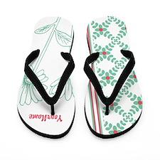 Daisy Personalized Flip Flops