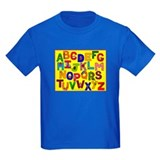 ABCs on Kids Clothes