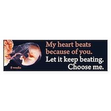 Choose Me Bumper Bumper Sticker