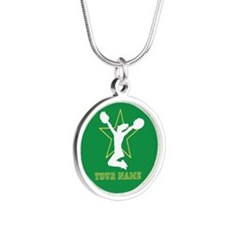 Green Cheerleader Necklaces