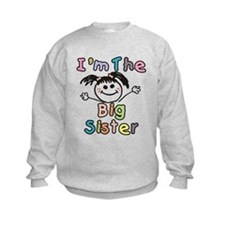 Im The Big Sister Sweatshirt