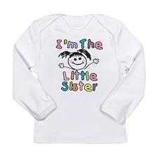 I'm The Little Sister Long Sleeve T-Shirt