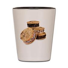 Cookie Ice Cream Sammiches Shot Glass