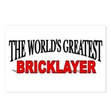 """The World's Greatest Bricklayer"" Postcards (Packa"