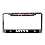 Nona Grandma License Plate Frame
