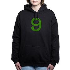 GREEN #9 Hooded Sweatshirt