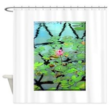 waterlily.jpg Shower Curtain