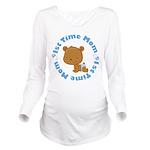 1st Time Mom baby boy Long Sleeve Maternity T-Shir