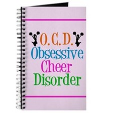 Cute Cheerleader Journal