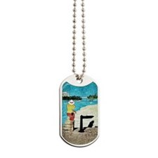 Lifeguard At South Bank  Dog Tags